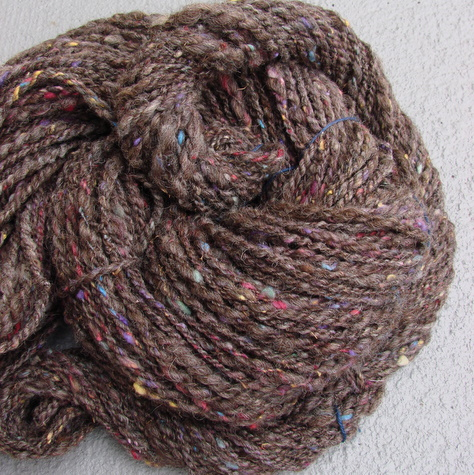 tweed yarn skeins