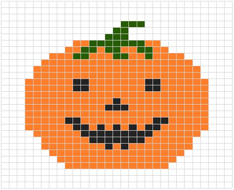 pumpkin chart for knitting
